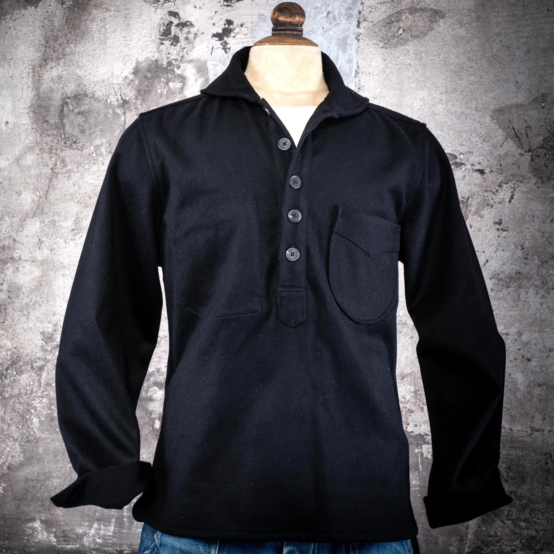"THE ""GABES"" SHIRT - Wool sheet"