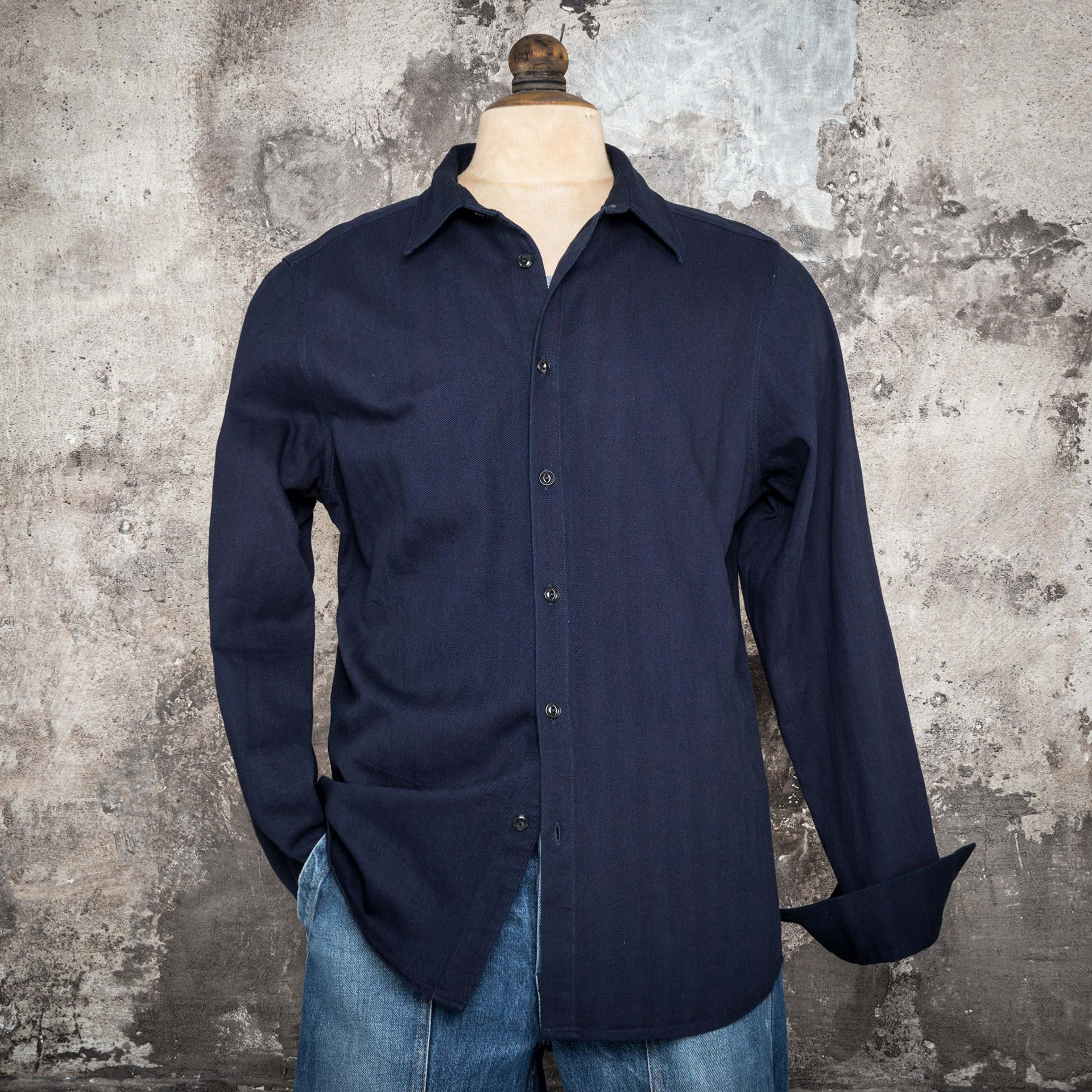 "THE ""CLASSIC"" SHIRT BLUE HBT"