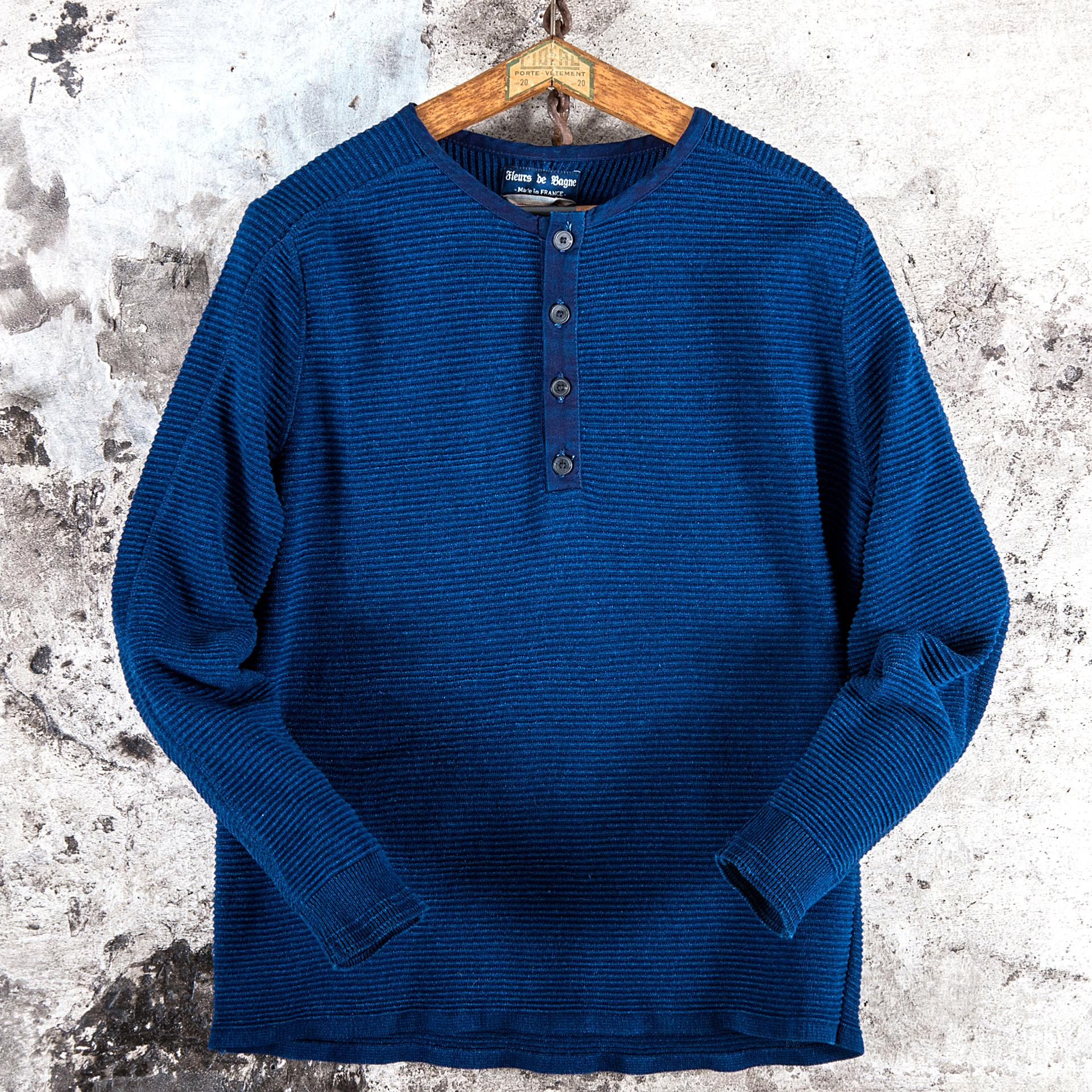 "THE INDIGO HENLEY ""ALBERT"""