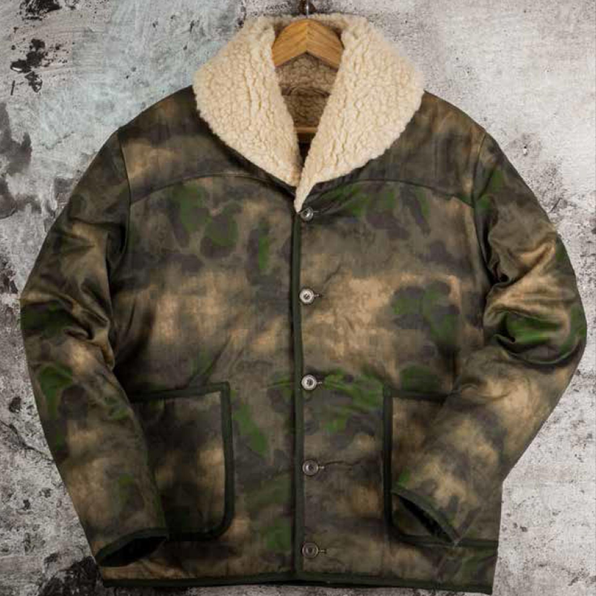 "THE ""DISCIPLINE"" COAT - CAMO"